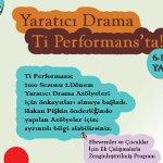 Ti Performans Yaratıcı Drama Atölyeleri