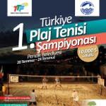 Türkiye 1. Plaj Tenisi Şampiyonası