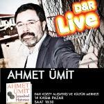 Ünlü ve Beğenilen Roman Yazarı Ahmet Ümit, 14 Kasım Pazar Günü Kozzy Avm D and R'a Konuk Oluyor