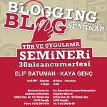 Blog Tür ve Uygulama Semineri