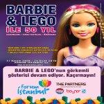 Barbie ve Lego ile 50 Yıl Sergisi