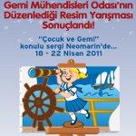 Çocuk ve Gemi Resim Sergisi