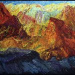 Ahmet Merey-Dağın Zirvesinde Resim Sergisi