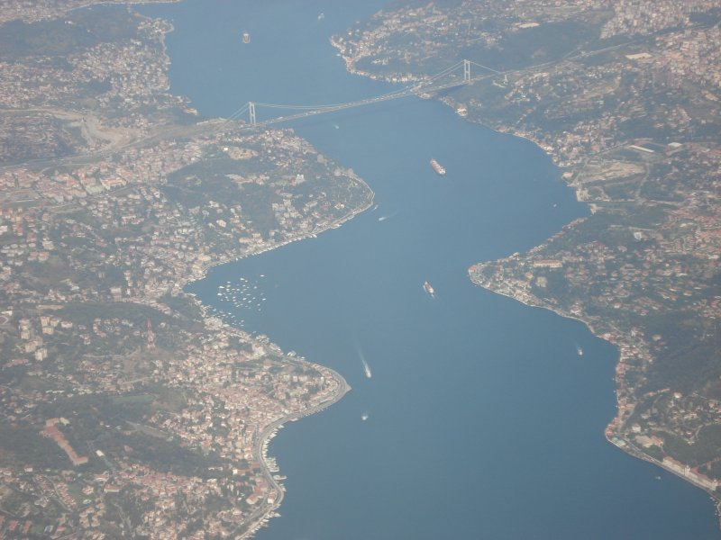 Havadan İstanbul Boğazı - Elif Karayelalp