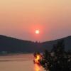 © Sedef Adası`nda Günbatımı - Fazıl Okudan