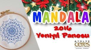 Mandala Atölyesi / Yılbaşı Panosu