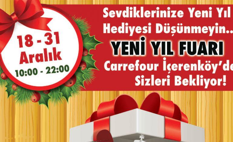 Carrefour İçerenköy AVM'de Yeni Yıl Fuarı