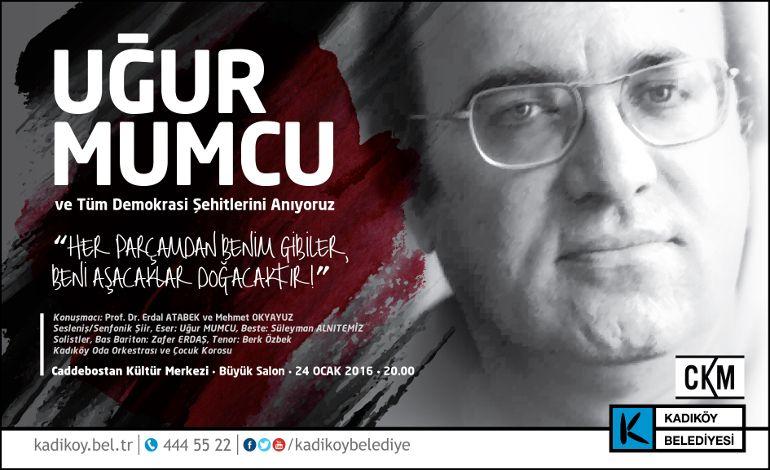 Uğur Mumcu Kadıköy'de Anılacak