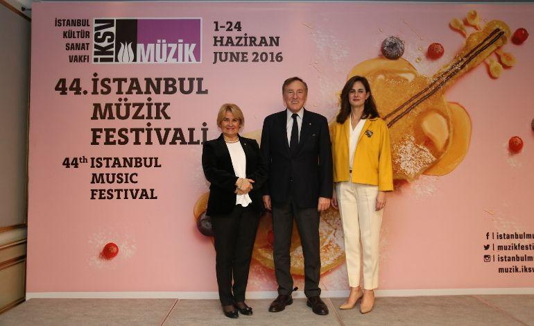 44. İstanbul Müzik Festivali 01–24 Haziran 2016