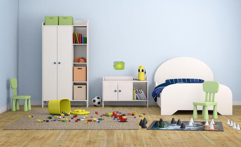 Legrand ile Çocuk Odaları Renkleniyor