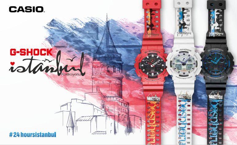 G-Shock İstanbul 2016 Özel Koleksiyonu