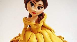 3D Prenses Kız İleri Seviye Figür