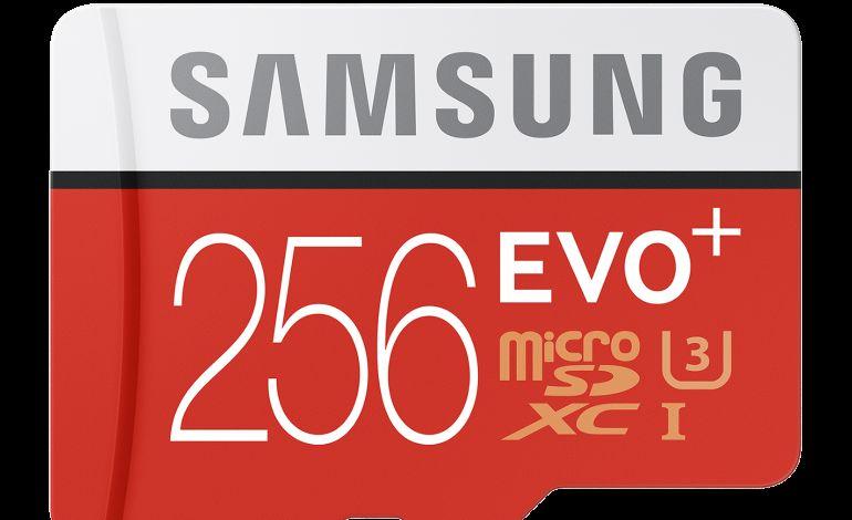 EVO Plus 256 GB MicroSD