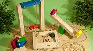 Doğal Mini Oyuncaklar