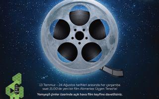 Ay Işığında Film İzlemenin Keyfi
