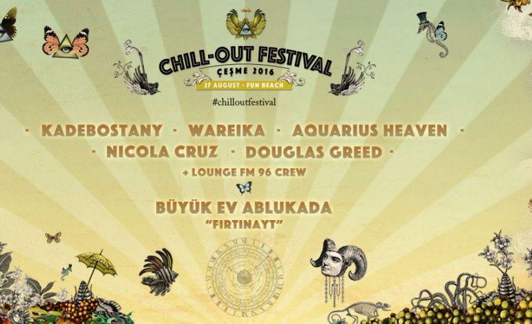 Chill - Out Festival Çeşme 2016