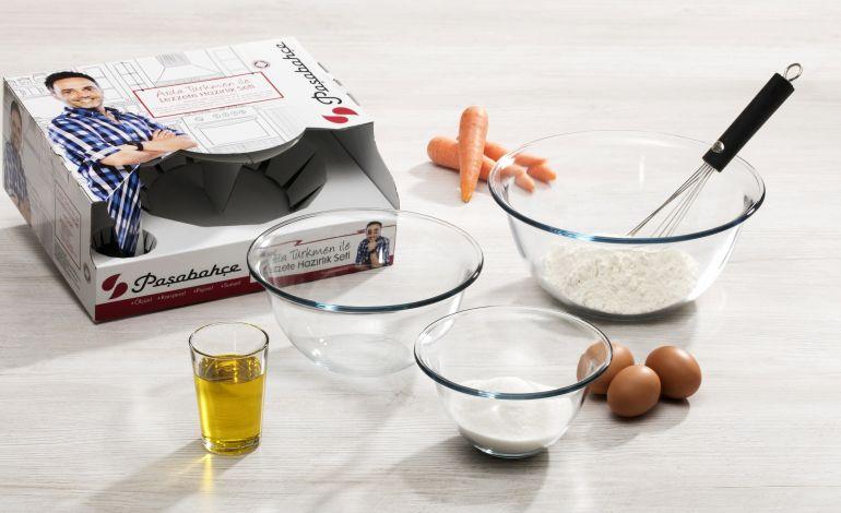 Arda Türkmen'in Hazırlık Seti Paşabahçe İle Mutfaklarda