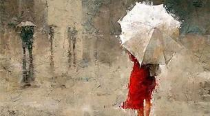 Masterpiece - Şemsiyeli Kadın
