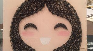 Masterpiece String Art - Japon Kız
