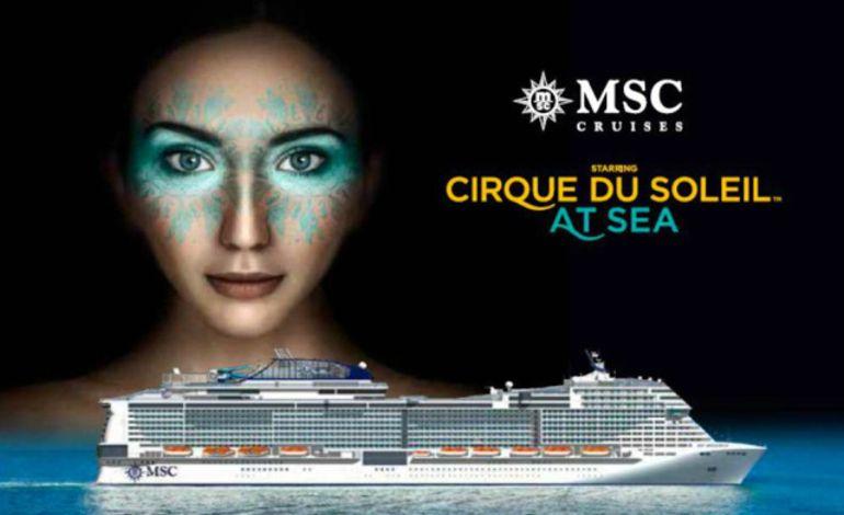Cirque Du Soleil Denize İniyor