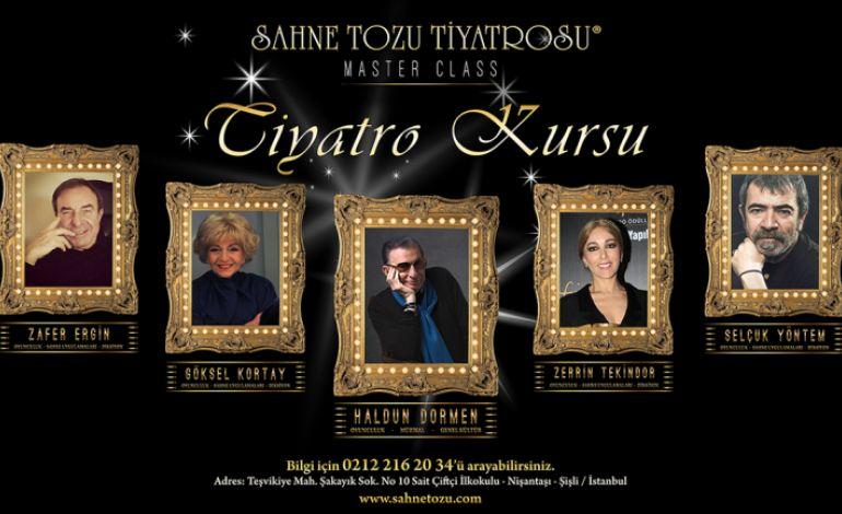 Tiyatro Sahnesine İlk Adımlarınızı Zerrin Tekindor, Zafer Ergin ve Selçuk Yöntem İle Atın!