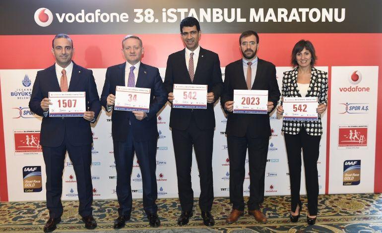 Vodafone 38. İstanbul Maratonu On Binlerin Katılımıyla 13 Kasım 'da Koşulacak.