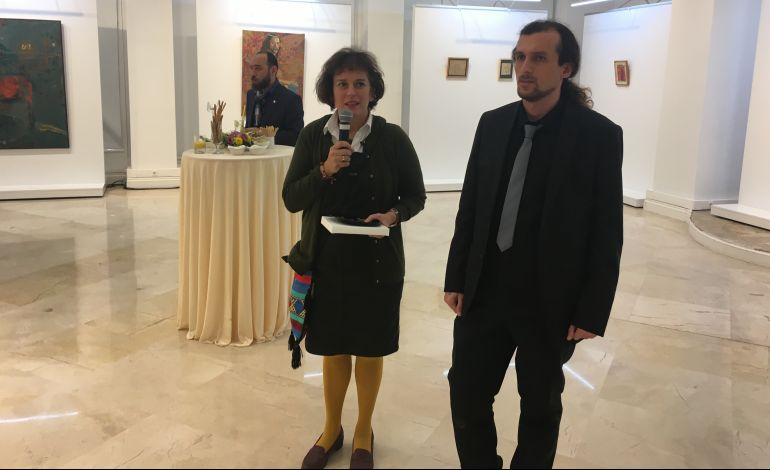 Murat Melih Özen'in Yeşil Küre adlı Sergisi
