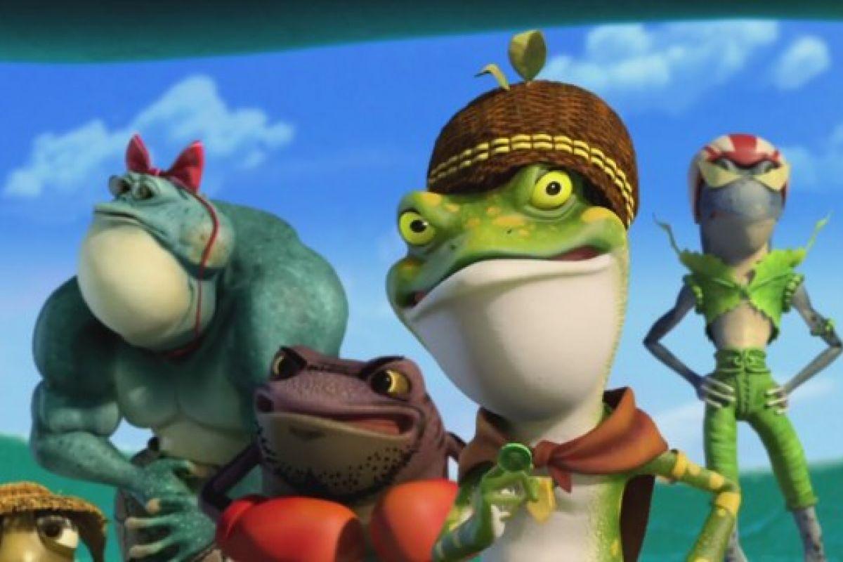 Kurbağa Krallığı: Buz Macerası