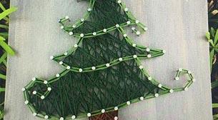 Masterpiece String Art - Çam Ağacı