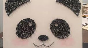 Masterpiece String Art - Panda