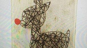 Masterpiece String Art - Rudolph
