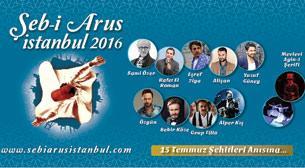 Şeb-i Arus İstanbul 2016