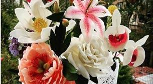 Şeker Hamurundan Çiçek Yapımı