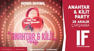 Speed Dating Kilit & Anahtar Parti