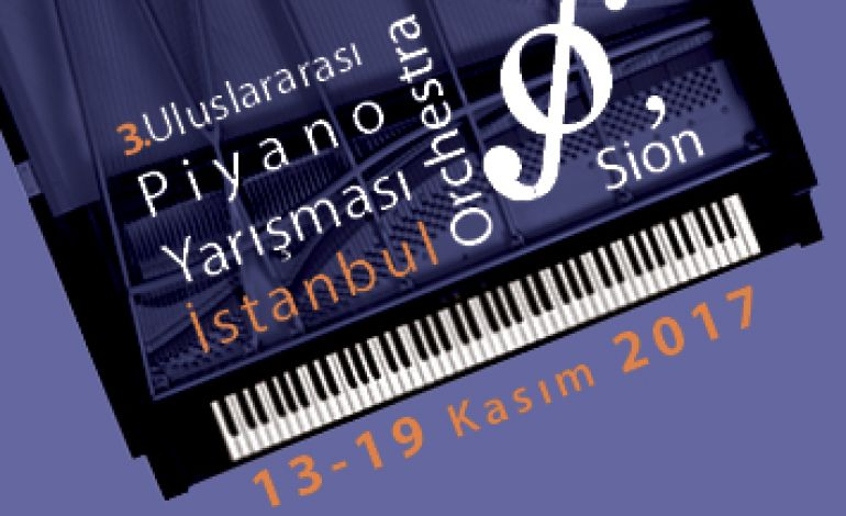 İstanbul Orchestra'Sion 3.Uluslararası Piyano Yarışması