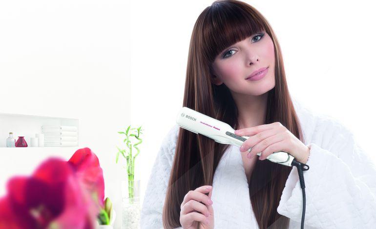 Bosch'un Saç Düzleştiricisiyle Kışın Bile Gösterişli Saçlar