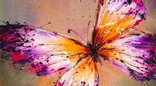 Yağlı Boya Workshop Kelebek