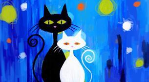 Resim - Kedi Aşkı