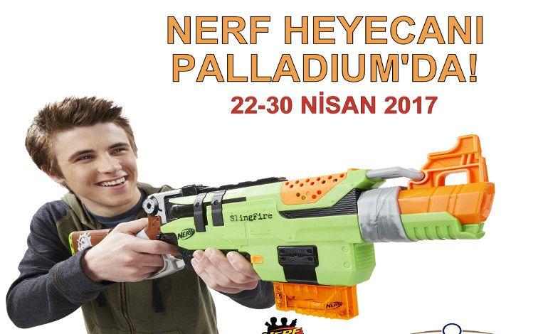 'Nerf ile Kapışma' Heyecanı Palladium Ataşehir'de