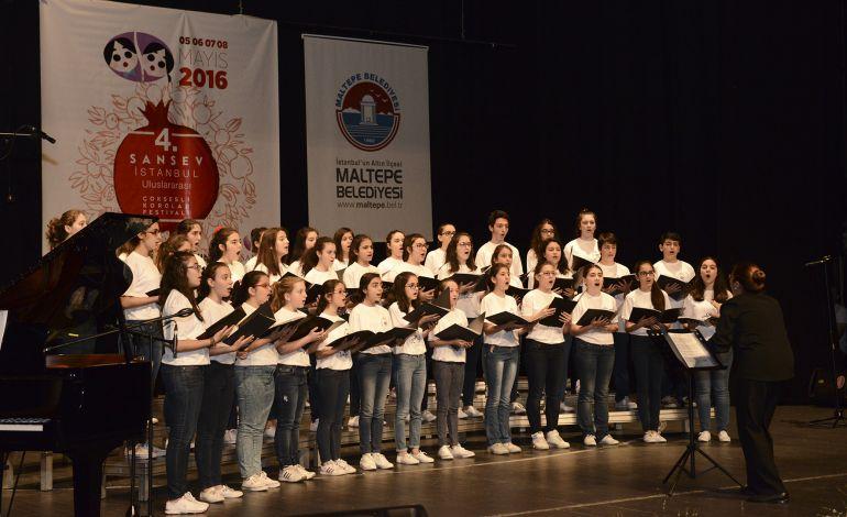 22 İlden 99 Koro Maltepe'de Buluşuyor