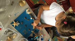 8 - 12 Yaş Deniz Kabuğundan Tasarım