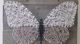 Masterpiece String Art - Kelebek