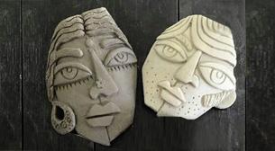 Seramik - Maske