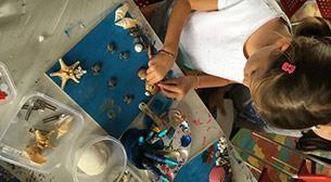 7 - 10 Yaş Deniz Kabuğundan Tasarım