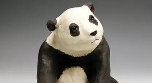 Masterpiece Heykel - Panda