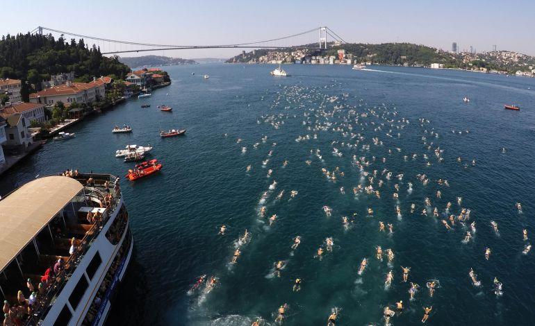 Binlerce Kulaç, Samsung Boğaziçi Kıtalararası Yüzme Yarışını Bekliyor