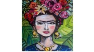 Çocuk Atölyesi -Tuval Boyama Frida