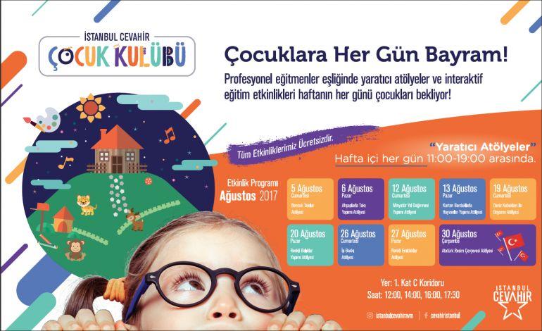 Miniklerin Yaz Tatili Keyfi İstanbul Cevahir'de Çıkıyor!