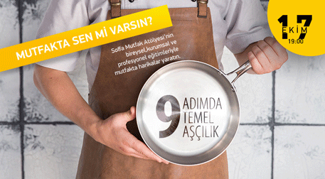 9 Adım'da Temel Aşçılık