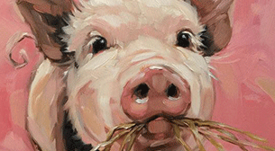 Masterpiece İzmir Resim - Piggy